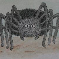Sidney the Scaredy Spider
