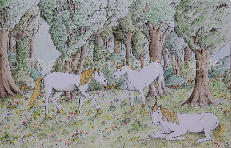watermarked unicorns