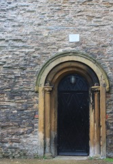 Doorway to undercroft