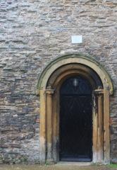 Doorway to undercroft