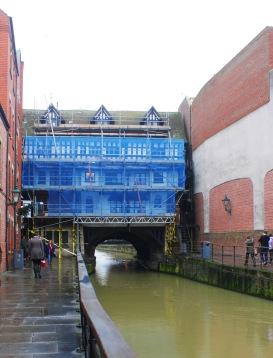 High Bridge in blue