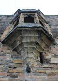 The oriel window from outside
