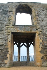 The oriel window from inside