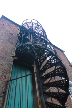 spiral staircase colour popped2