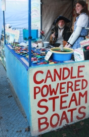 steam boat stall