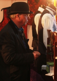waitcoat stall man