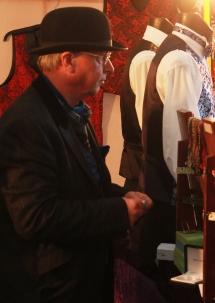 waitcoat stall man