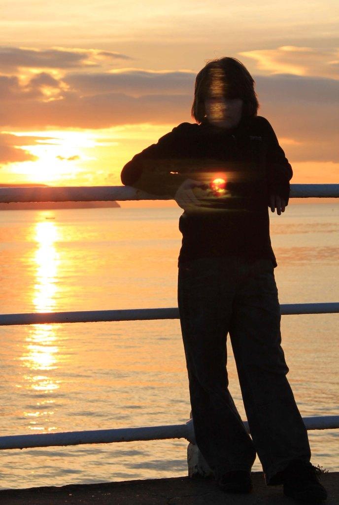 holding the sun
