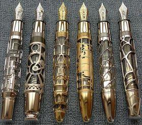 steampunk-pens