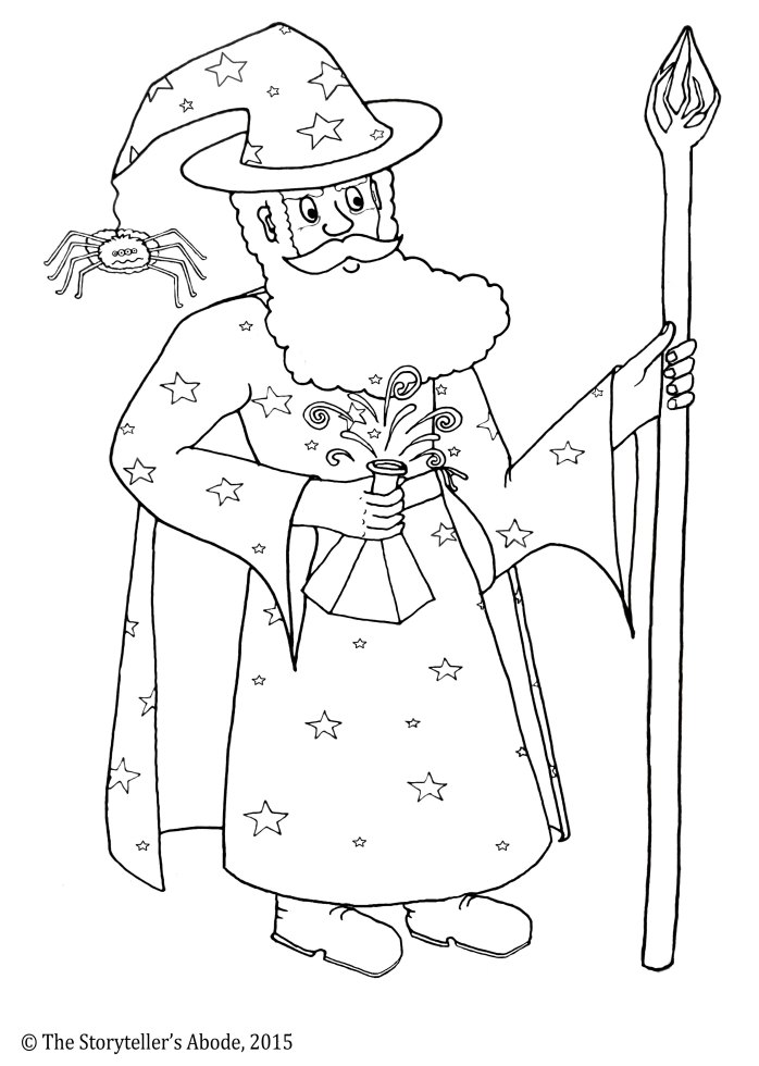 old wizard woo