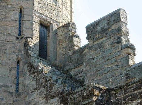 door onto wall