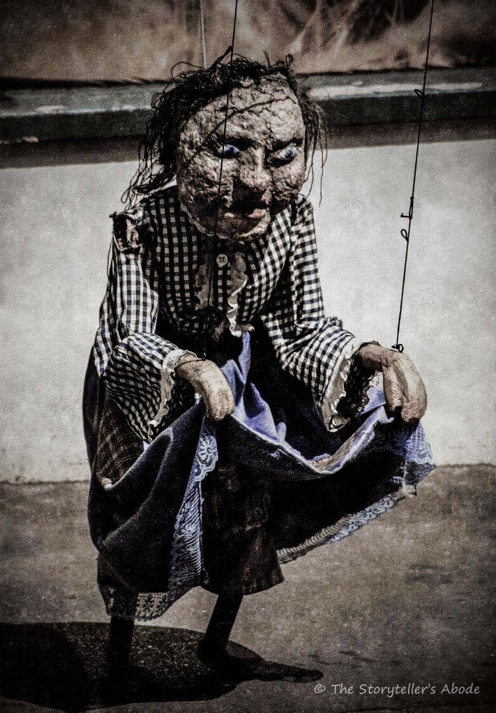 freaky puppet