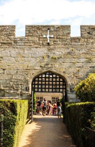 view through gate