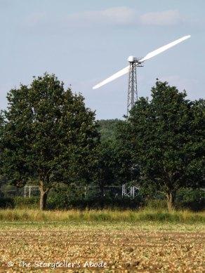 view to wind turbine
