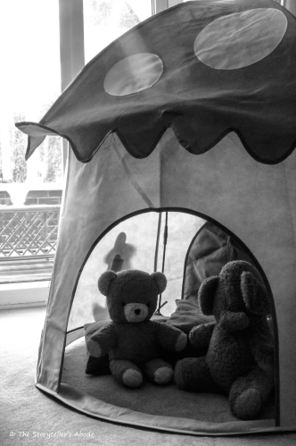 Bear and Elephant 2 bw