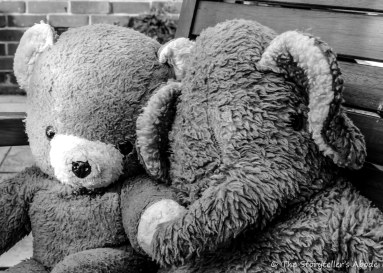 Bear and Elephant 3 bw