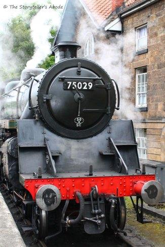 train at grosmont