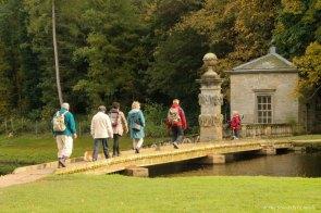 bridge with people