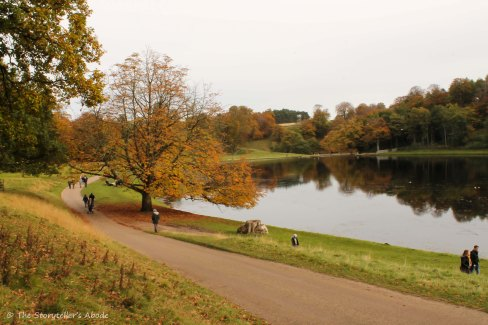 path by lake
