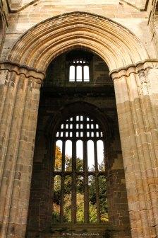 window through arch