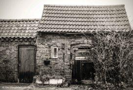 Old sheds, Nottinghamshire, UK