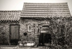 Old sheds, Nottinghamshire, UK