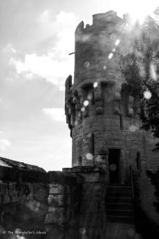 warwick tower with sunbeams2