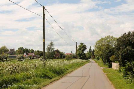 road into village