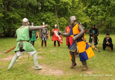 43 Sir Guy Battles the Mysterious Green Knight