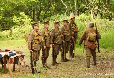 52 WW1 soldiers