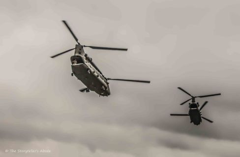 Chinooks sketched