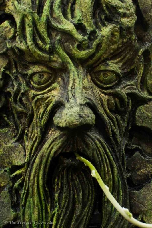 Green Man Close Up 2