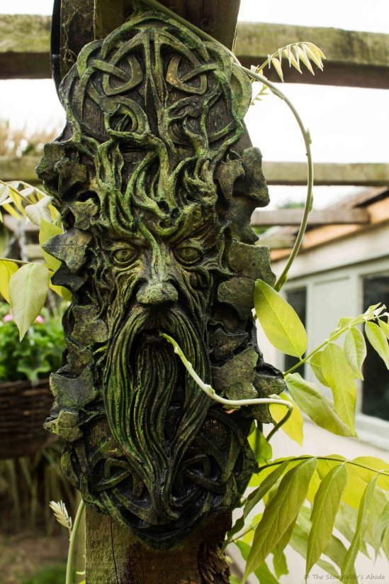Green Man on Pagoda